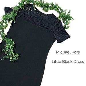 🖤 MICHAEL KORS A-Line Cute Little Black Dress